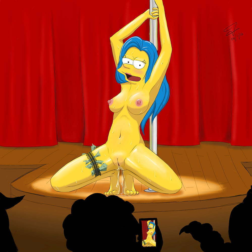 Marge Simpson y sus amigas cartoon porno