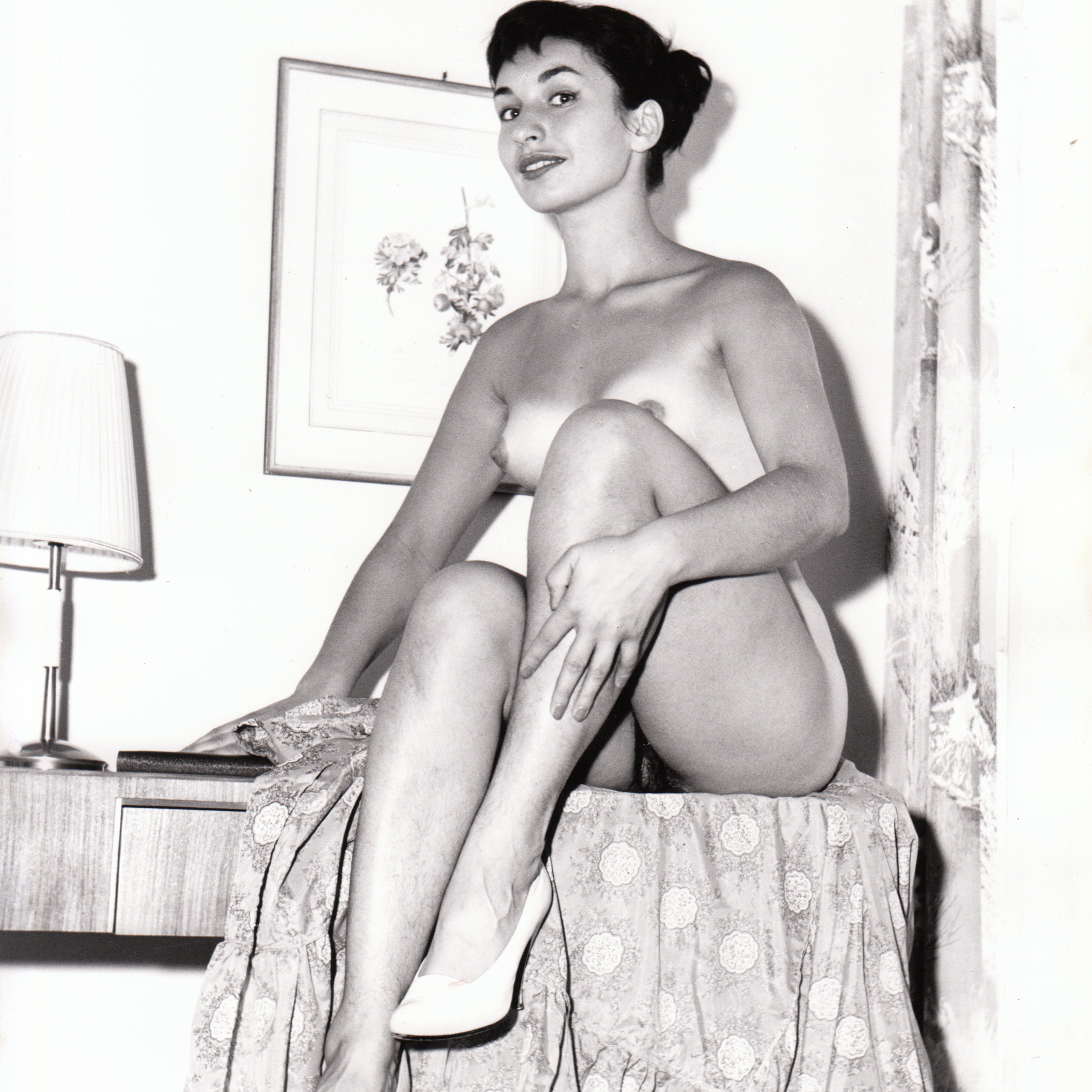 Desnudos B&W 1950-th