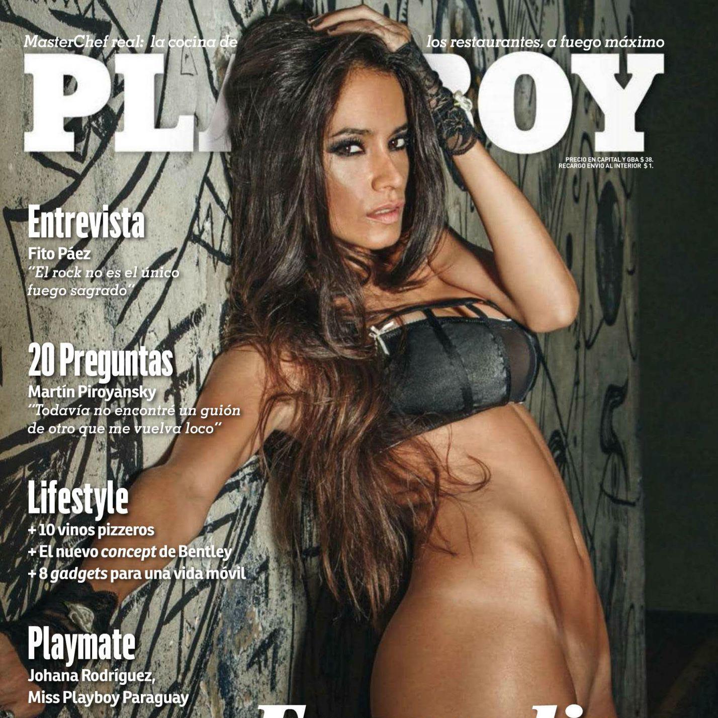 Evangelina Carrozo para Playboy - Abril 2015