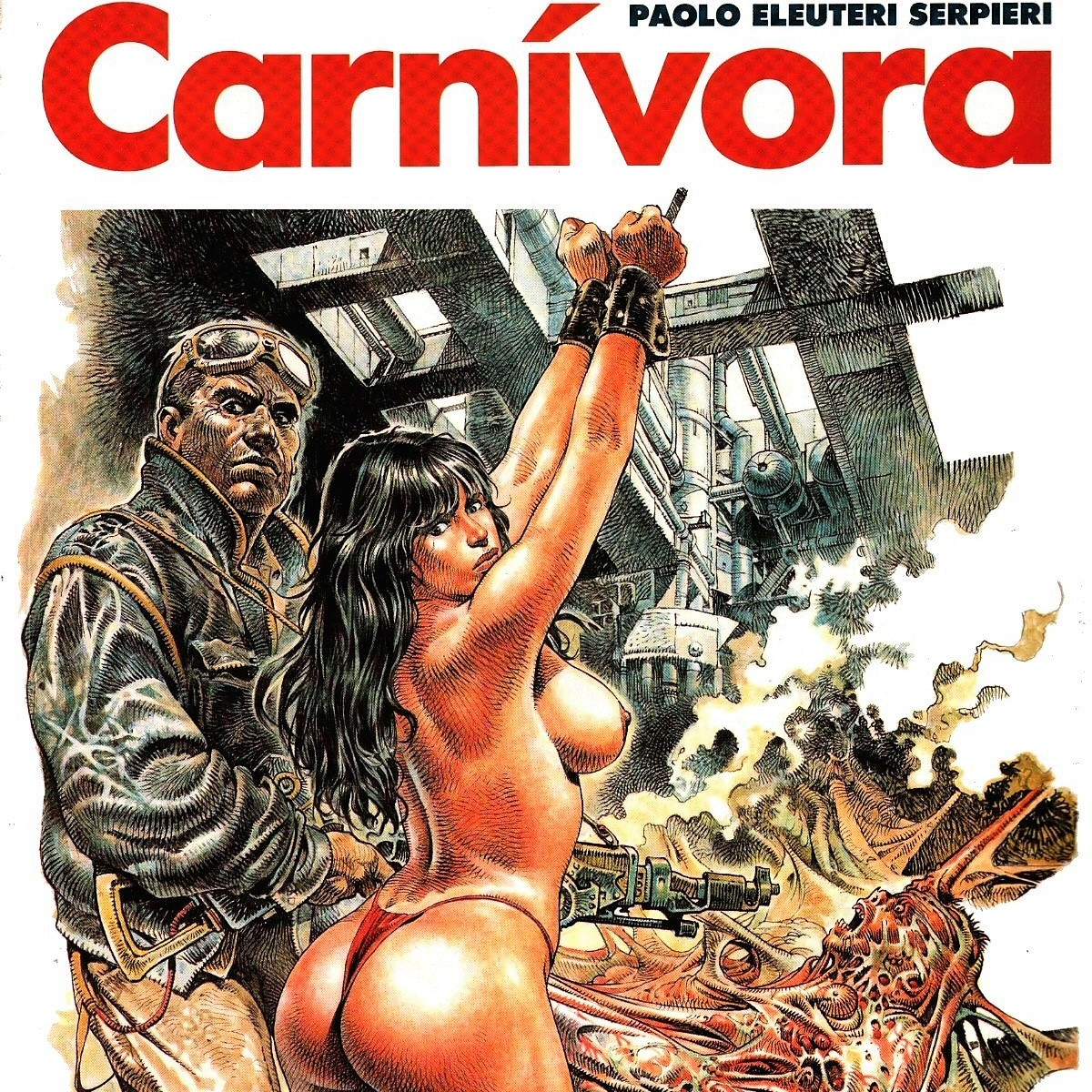 Comic X - Carnivora (Druuna 4) de Serpieri