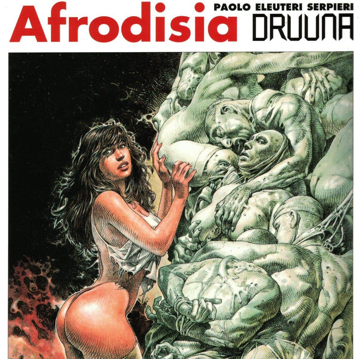 Comic X - Afrodisia (Druuna 6) de Serpieri