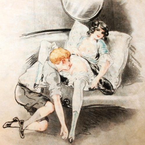 Arte Erótico Vintage - Léon Courbouleix