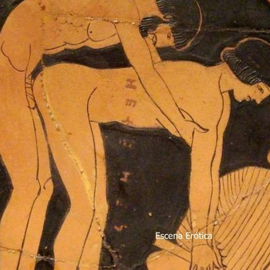 Posturas eróticas en el arte antiguo.