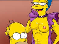 Comic porno Simpson Marge T