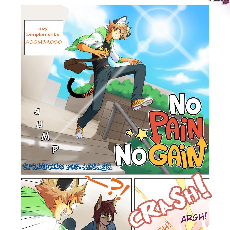 No Pain No Gain (Comic Yiff) Español