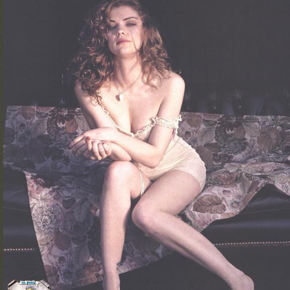 Dolores Fonzi en pelotas para Playboy