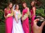Las amigas hicieron la despedida de soltera a la novia