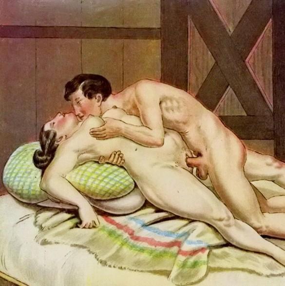Dibujos sexuales vintage Pt2
