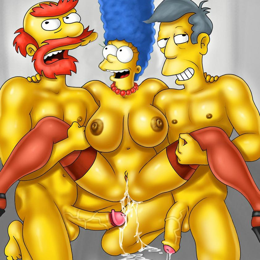 Marge Simpson es igual de puta que Mamá