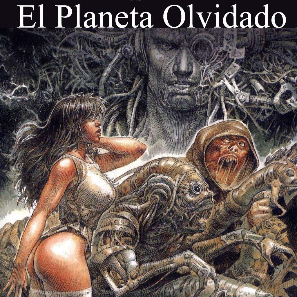Comic X - El planeta olvidado (Druuna 7) de Serpieri
