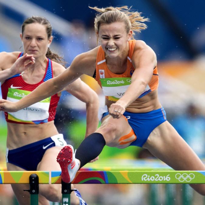 Bellezas Olímpicas. Nadine Visser