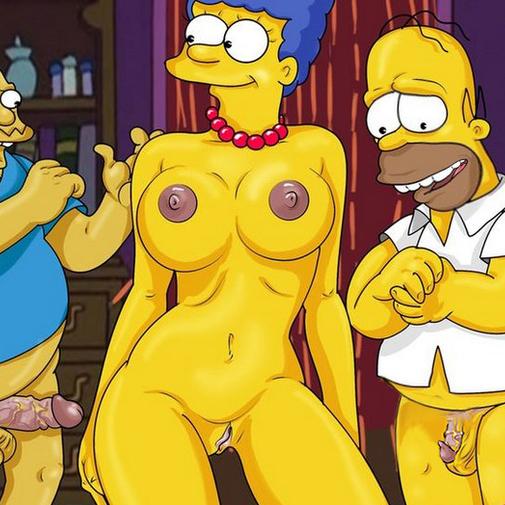 Тети Симпсоны Порно