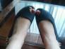 Los pies de una amiga