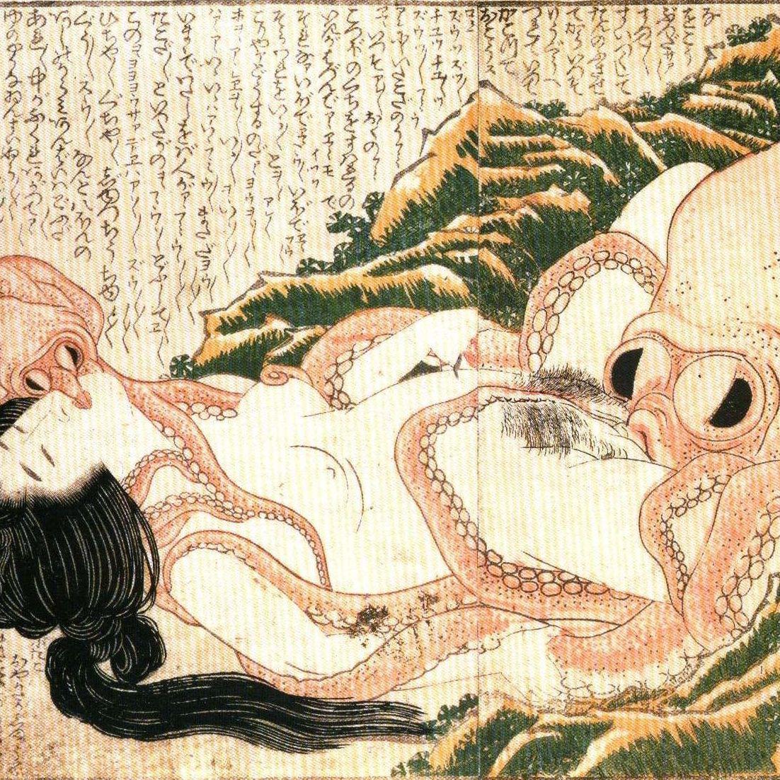 El erotismo en el arte japonés. Parte I