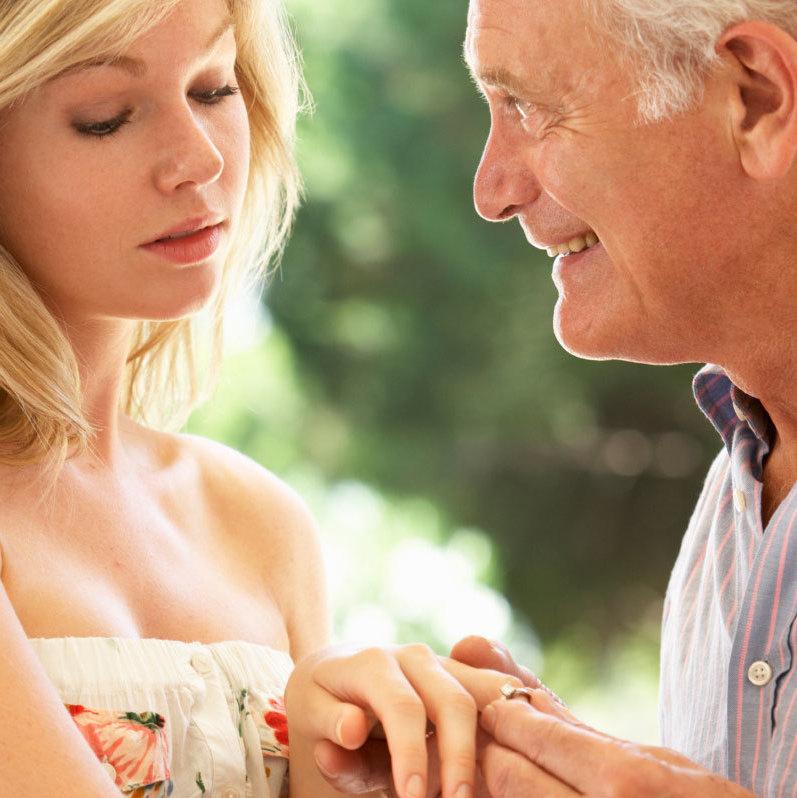 Diferencia de edad en el sexo: Ventajas y problemas