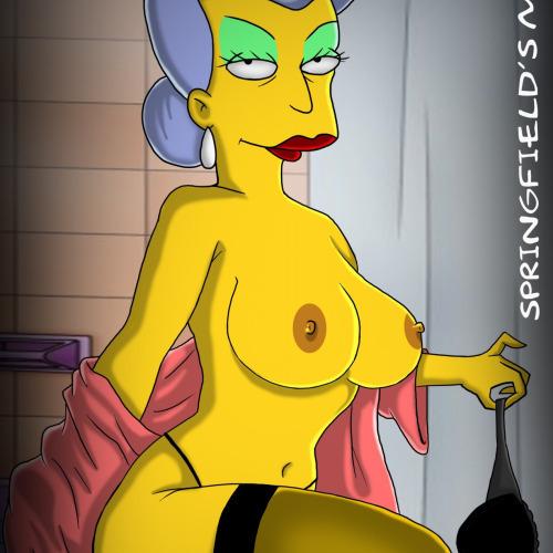Simpson putas del barrio (comics xxx)