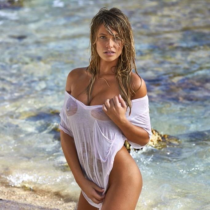 Samantha Hoopes en Sports Illustrated