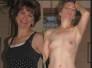 veteranas amateurs, vestidas y desnudas mostrando atributos