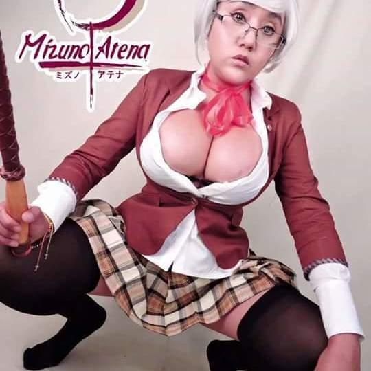 Mizuno Atena: una cosplayer de grandes tetas.