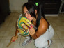 Me encanto Marisa, tremenda hembra Brasilera.