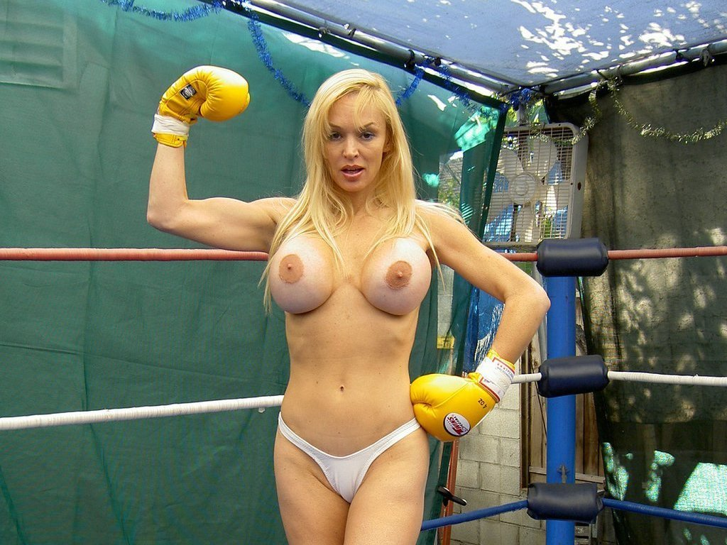old time female boxing