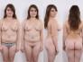 Mujeres varias, en 7 poses a la vez por foto de todo angulo