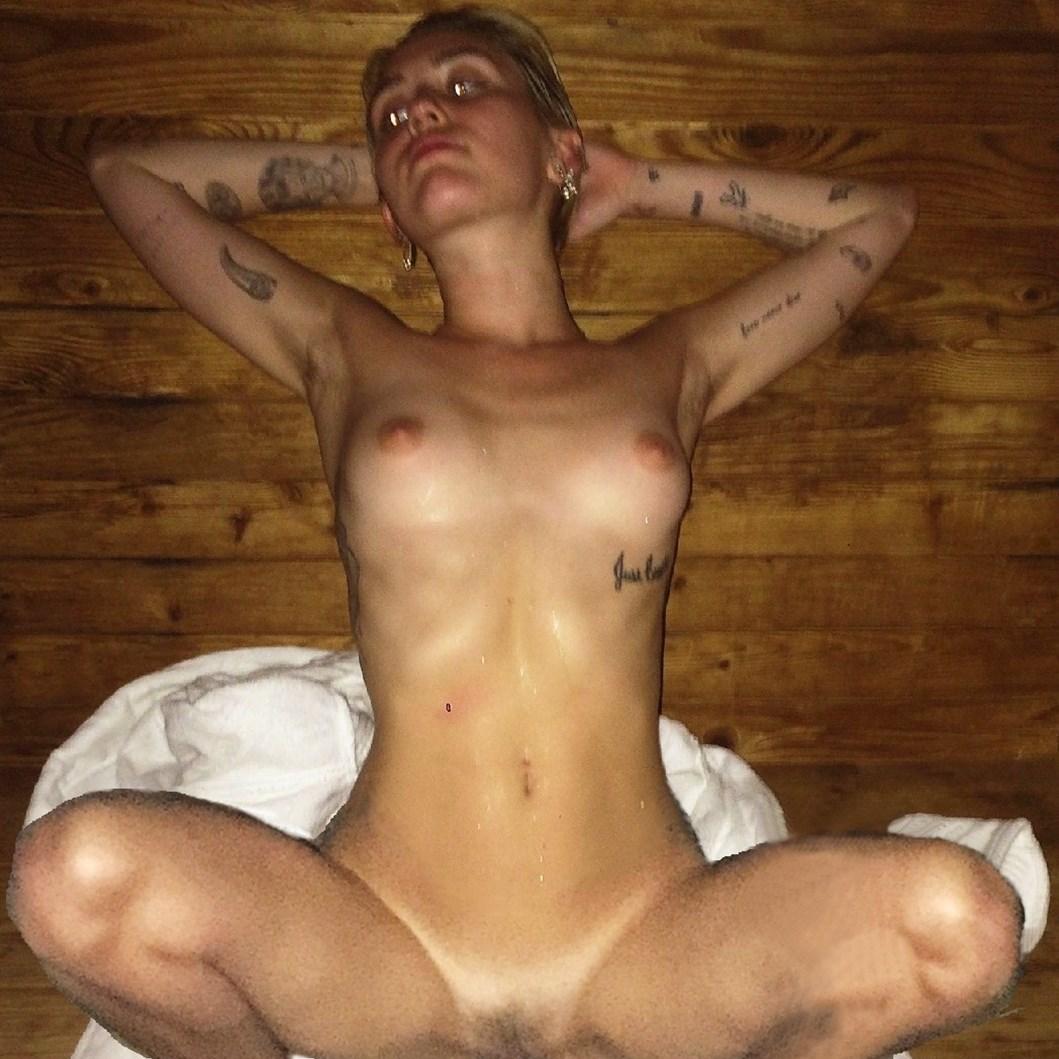 Las nuevas fotos porno de Miley Cyrus