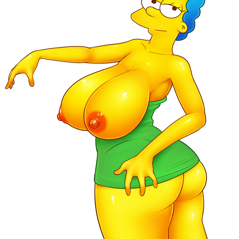 marge simpson y comics porno