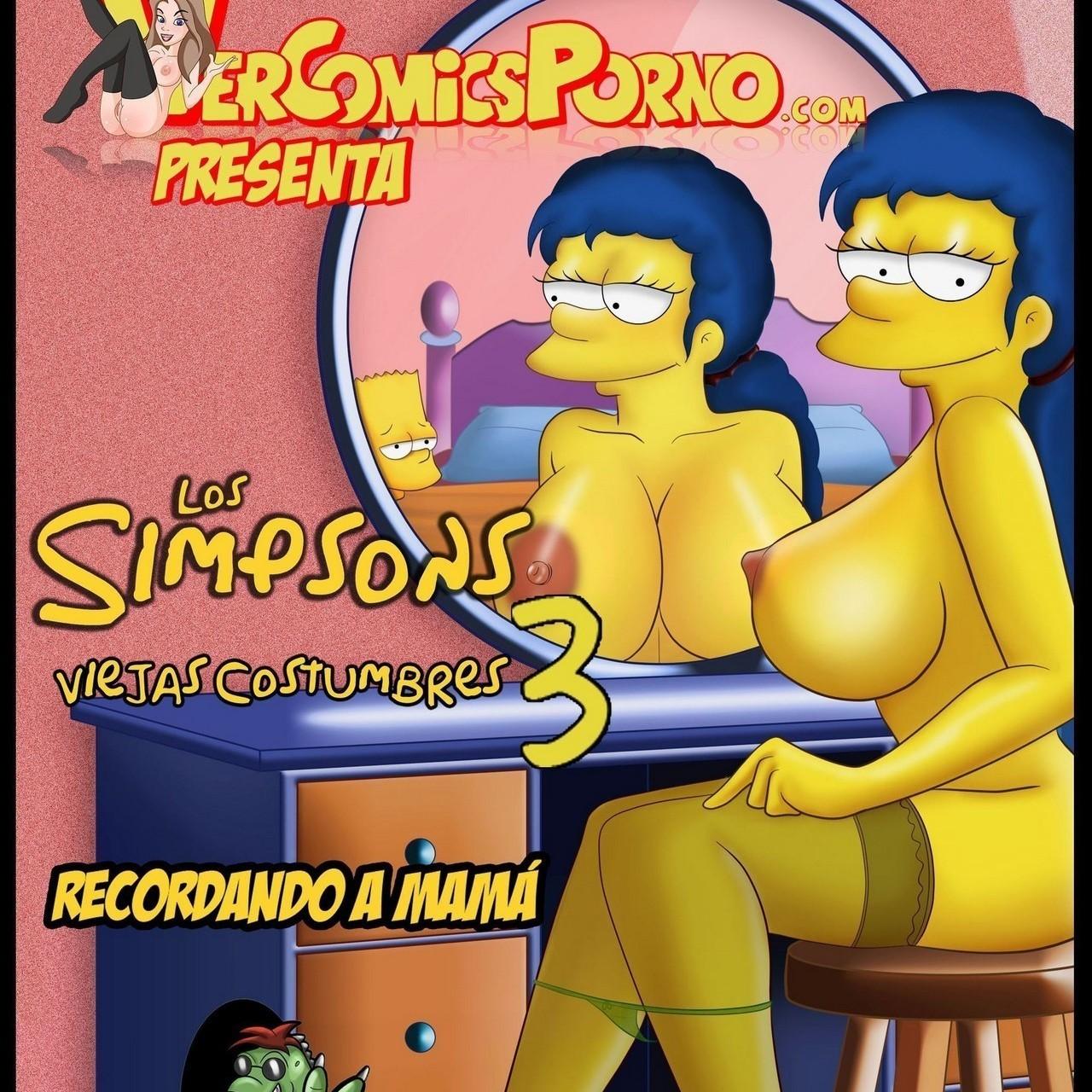 Los Simpson - Viejas Costumbres 3 (Bart y Marge cogiendo)