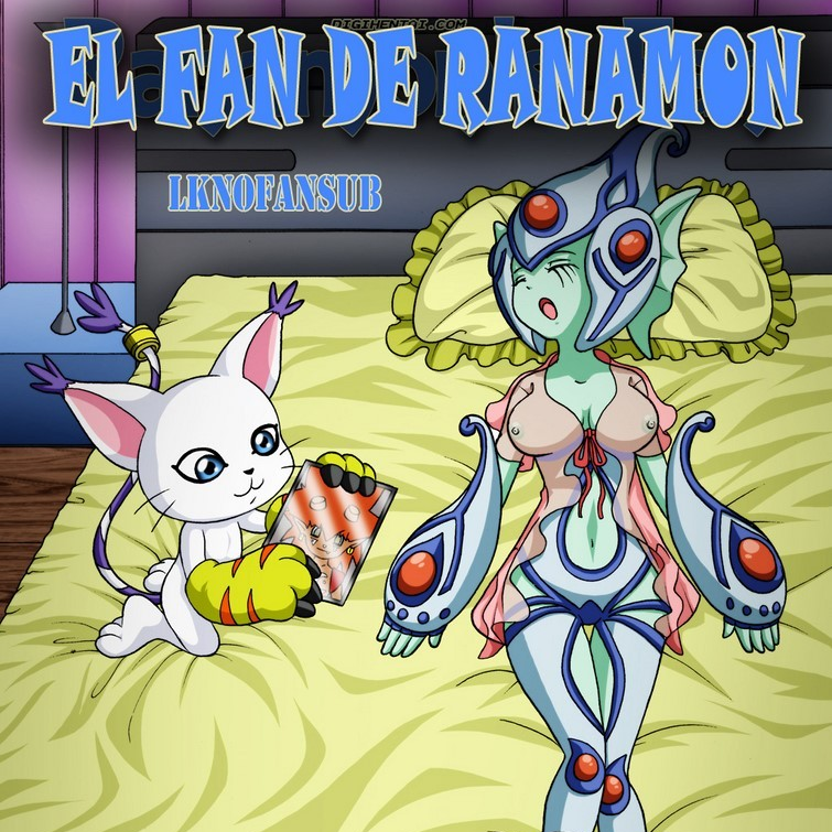 El fan de Ranamon (Digihentai)