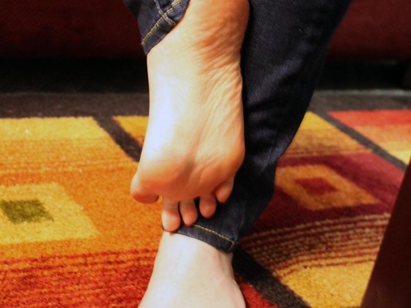 Lechita en los pies de mi mujer 3 5