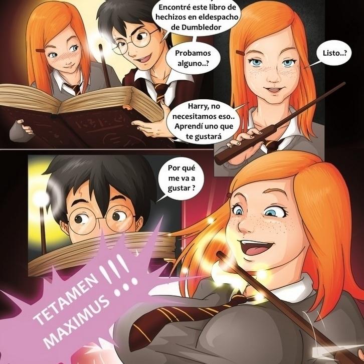Harry Potter - Conjuros prohibidos