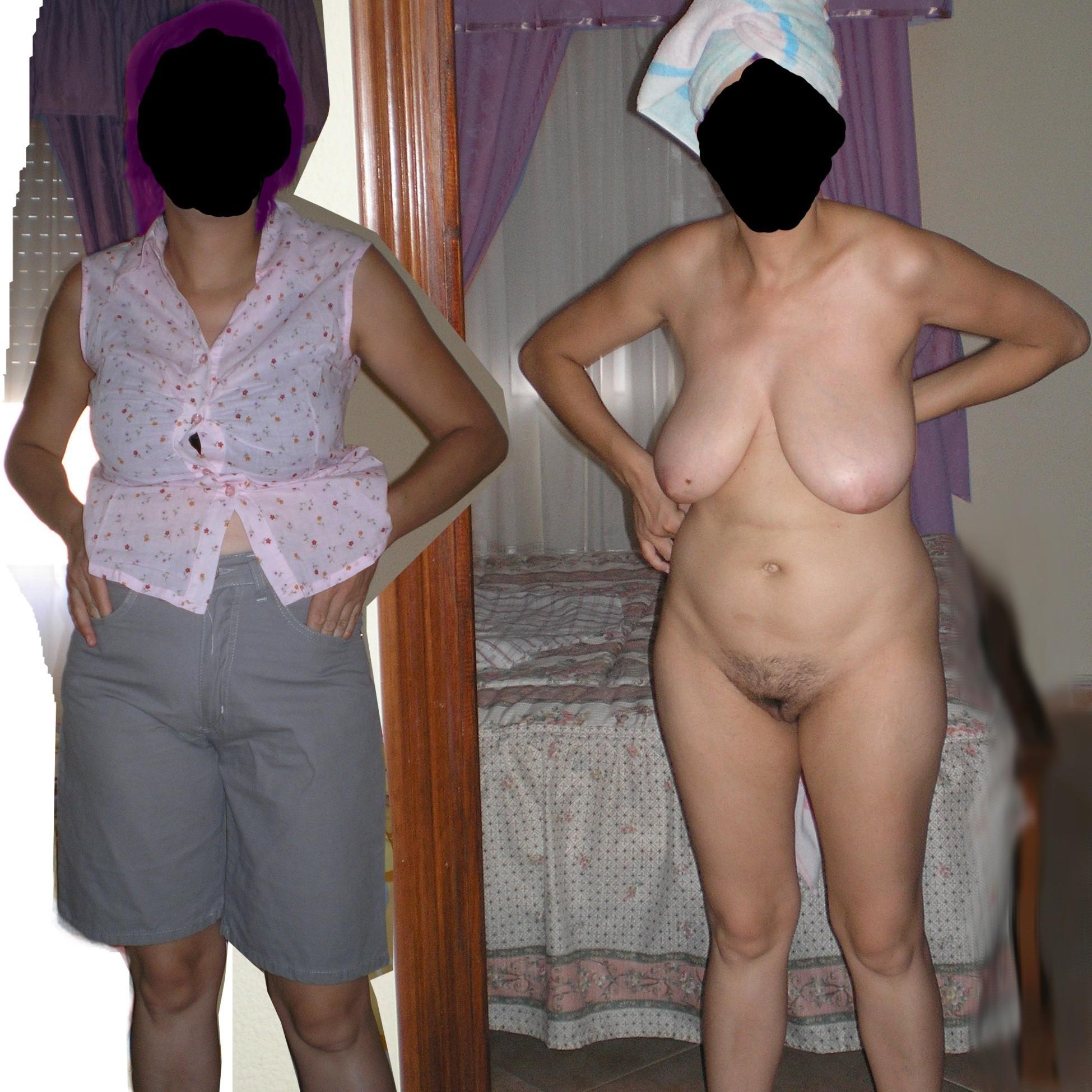 Luisa con y sin Ropa - parte2