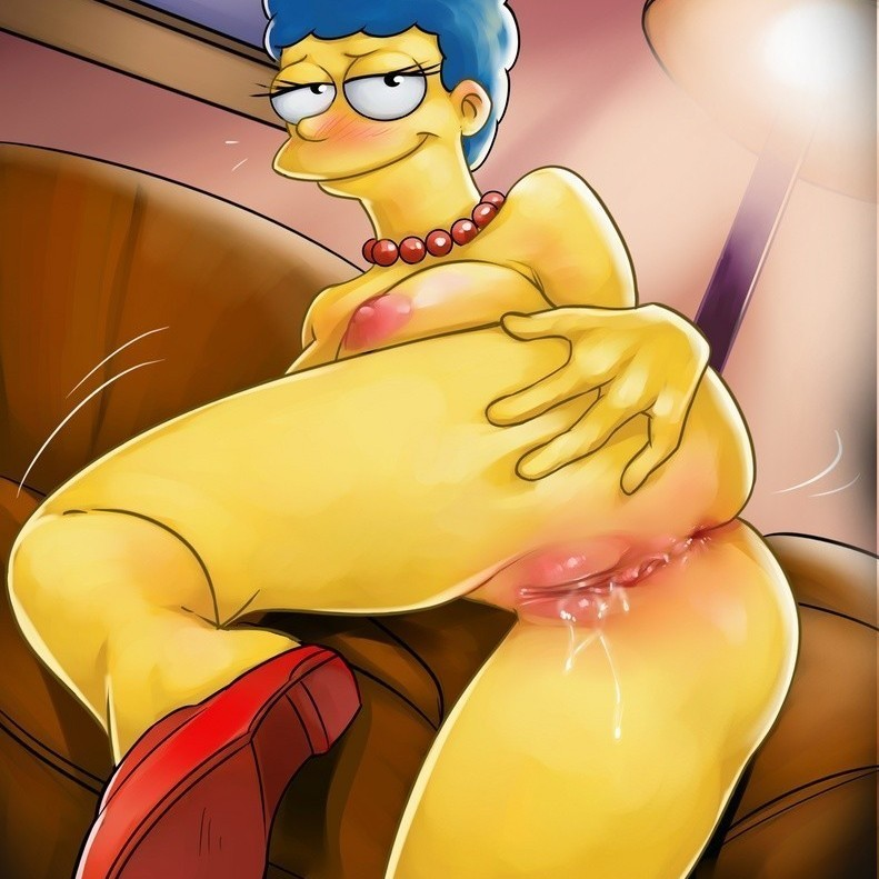 Marge simpsons porno sexo-simpsons una buena mamada