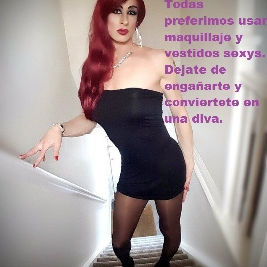 Tg caption [me gusta vestir de mujer]
