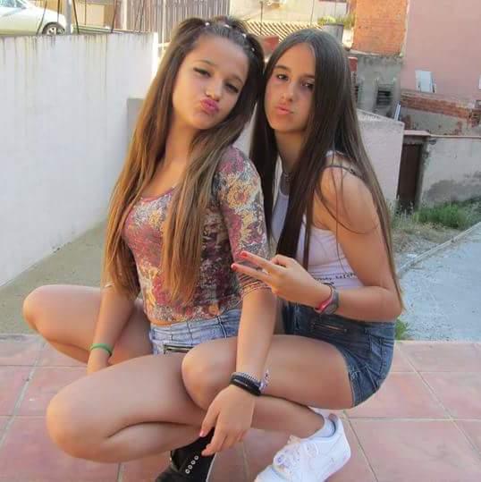 Mi puti sobrina Marina Diaz Alcaraz18 añitos y sus amigas..